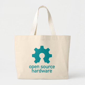Open-source-hardware Large Tote Bag