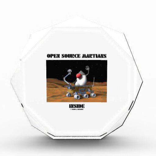 Open Source Martians Inside (Duke Rover) Acrylic Award