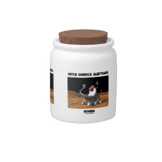 Open Source Martians Inside (Duke Rover) Candy Jar