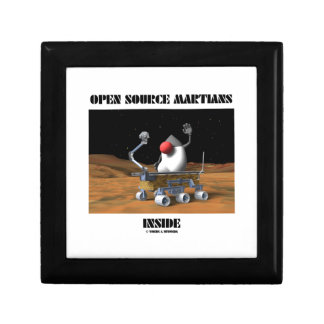 Open Source Martians Inside (Duke Rover) Keepsake Box