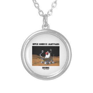 Open Source Martians Inside (Duke Rover) Personalized Necklace