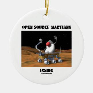Open Source Martians Inside (Duke Rover) Christmas Ornament