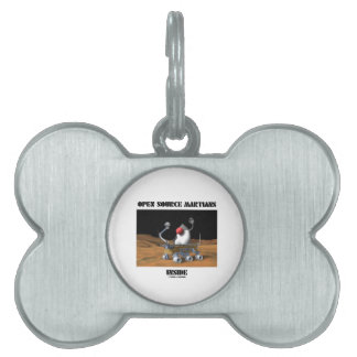 Open Source Martians Inside (Duke Rover) Pet ID Tag