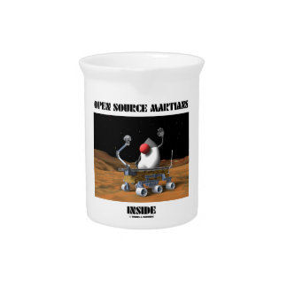 Open Source Martians Inside (Duke Rover) Pitchers