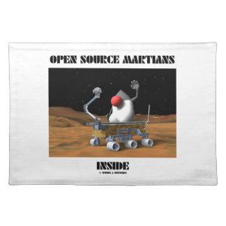 Open Source Martians Inside (Duke Rover) Place Mats