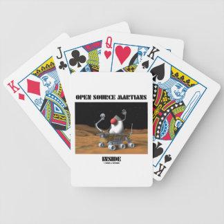 Open Source Martians Inside (Duke Rover) Poker Deck