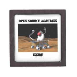 Open Source Martians Inside (Duke Rover) Premium Jewelry Boxes