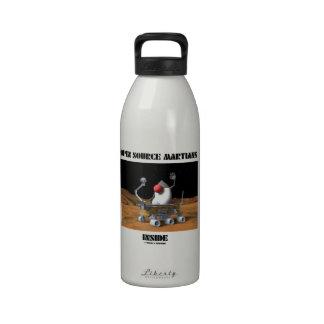 Open Source Martians Inside (Duke Rover) Water Bottles