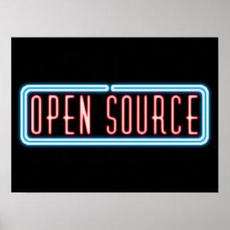 Open Source Neon Sign