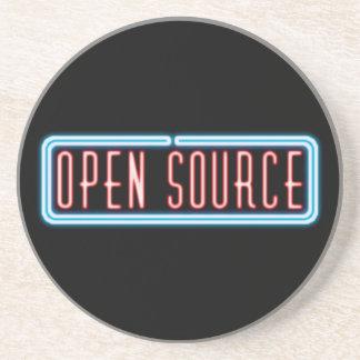Open Source Neon Sign Coaster