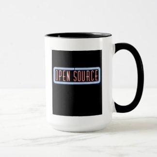 Open Source Neon Sign Mug