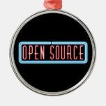 Open Source Neon Sign Ornament
