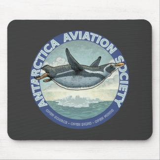 """Open Source - Open Skies - Open Mind"" Mousepad"