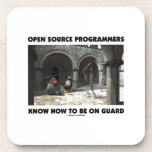 Open Source Programmers Know How To Be On Guard Drink Coasters