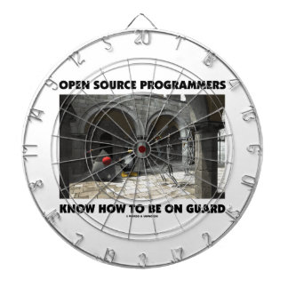 Open Source Programmers Know How To Be On Guard Dartboards
