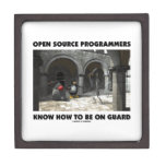 Open Source Programmers Know How To Be On Guard Premium Gift Box