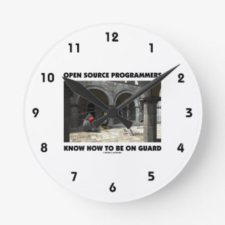 Open Source Programmers Know How To Be On Guard Round Clock