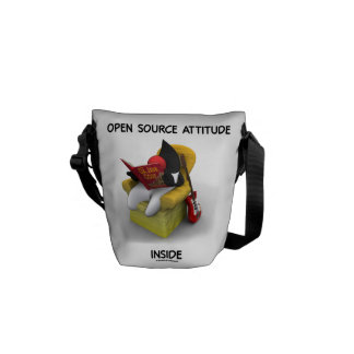 Open Source Student (Duke Java Book Comfy Chair) Courier Bag