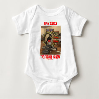 Open Source The Future Is Now (Duke) Baby Bodysuit
