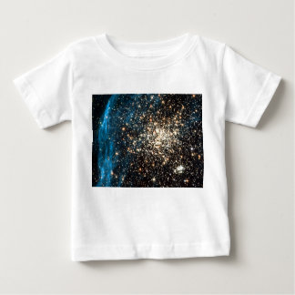 Open Star Cluster NGC 1850 in Dorado Constellation Baby T-Shirt