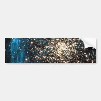 Open Star Cluster NGC 1850 in Dorado Constellation Bumper Sticker