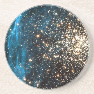 Open Star Cluster NGC 1850 in Dorado Constellation Coaster