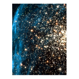Open Star Cluster NGC 1850 in Dorado Constellation Post Card