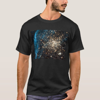 Open Star Cluster NGC 1850 in Dorado Constellation T-Shirt