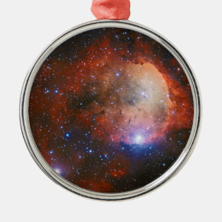 Open Star Cluster NGC 3324 in the Carina Nebula Metal Ornament