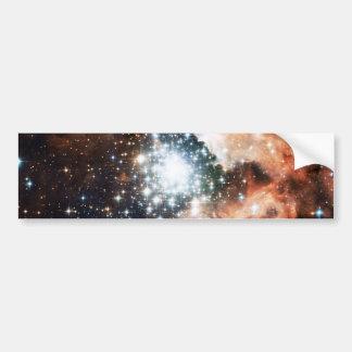 Open Star Cluster NGC 3603 in the Carina Nebula Car Bumper Sticker