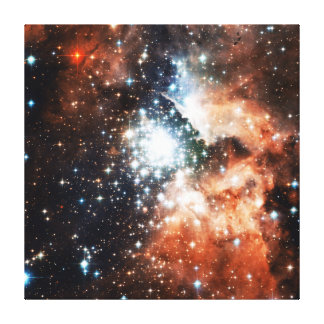 Open Star Cluster NGC 3603 in the Carina Nebula Canvas Print