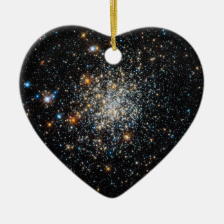 Open Star Cluster NGC 411 Ceramic Ornament