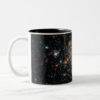 Open Star Cluster NGC 411 Two-Tone Coffee Mug