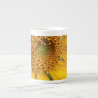 Open Sunflower Tea Cup