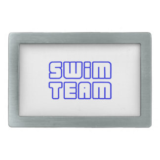 OPEN SWIM TEAM RECTANGULAR BELT BUCKLES