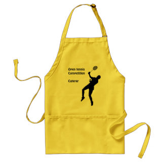 Open tennis competition, Caterer Adult Apron