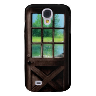 Open the Door to the Outside Samsung S4 Case
