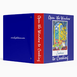 Open the Window to Cooking 3 Ring Binder