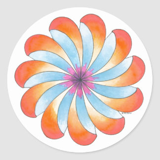 Open to Healing Sticker