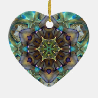Open to Love Heart Christmas Ornaments