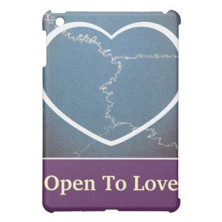 Open To Love iPad Case 1-Customize