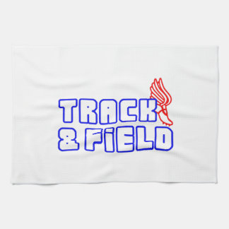 OPEN TRACK AND FIELD WITH SHOE HAND TOWEL