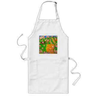 Open Vegan mind Long Apron