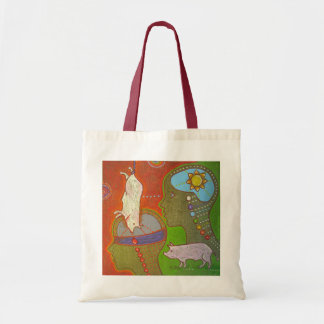 Open Vegan your eyes Tote Bag