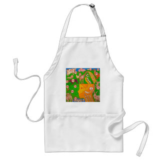 Open Vegan your mind Adult Apron