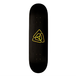 Open Void Black and Gold Logo Board