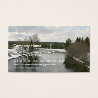 Open Water Business Card