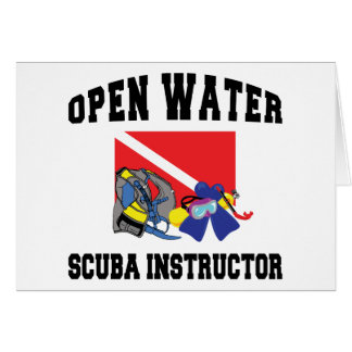 Open Water SCUBA Instructor Card