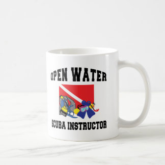 Open Water SCUBA Instructor Coffee Mug