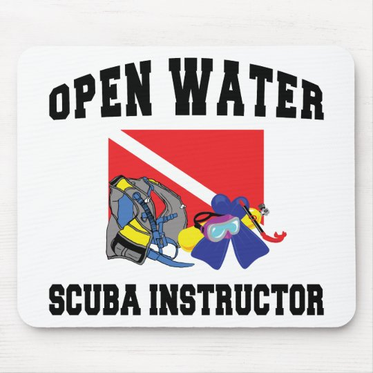Open Water SCUBA Instructor Mouse Pad
